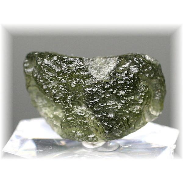 チェコ共和国産天然モルダバイト原石(MOLDAVITE-RAF66IS)