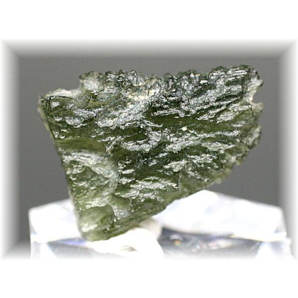 チェコ共和国産天然モルダバイト原石(MOLDAVITE-RAF68IS)