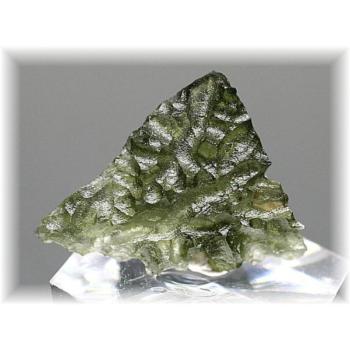 チェコ共和国産天然モルダバイト原石(MOLDAVITE-RAF75IS)