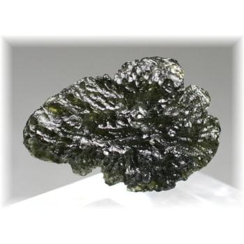 チェコ共和国産天然モルダバイト原石(MOLDAVITE-RAF86IS)