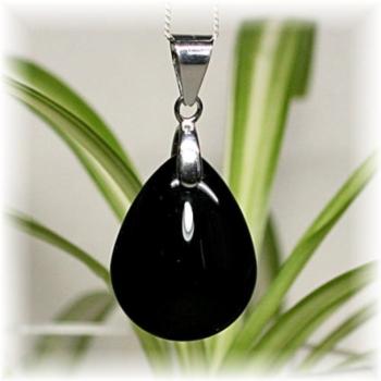 モリオン(黒水晶)ペンダント