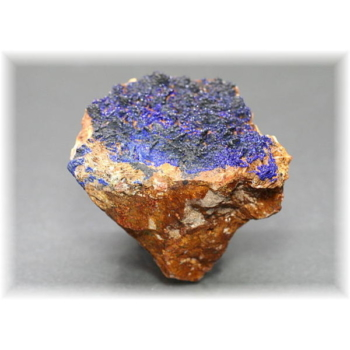 モロッコ産アズライト結晶石(MOROCCO-AZURITE103IS)