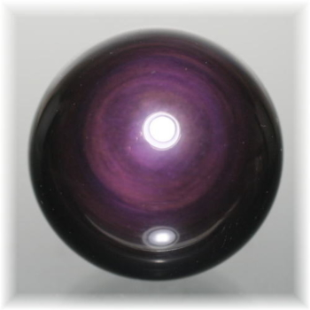 メキシコ産レインボーオブシディアンスフィア(OBSIDIAN-SPHERE314IS)