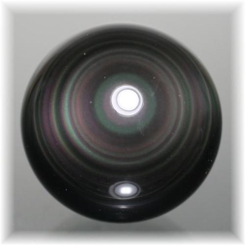 メキシコ産レインボーオブシディアンスフィア(OBSIDIAN-SPHERE317IS)
