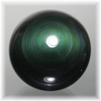 メキシコ産レインボーオブシディアンスフィア(OBSIDIAN-SPHERE319IS)