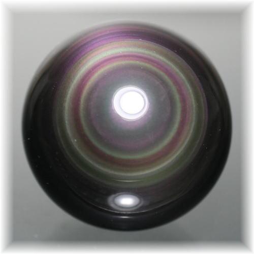 メキシコ産レインボーオブシディアンスフィア(OBSIDIAN-SPHERE321IS)