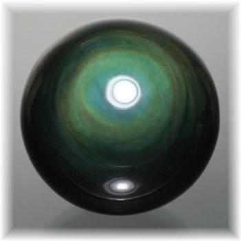 メキシコ産レインボーオブシディアンスフィア(OBSIDIAN-SPHERE323IS)
