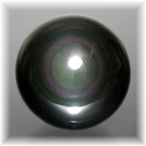 メキシコ産レインボーオブシディアンスフィア(OBSIDIAN-SPHERE703)