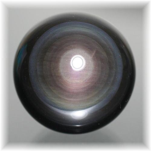 メキシコ産レインボーオブシディアンスフィア(OBSIDIAN-SPHERE753IS)