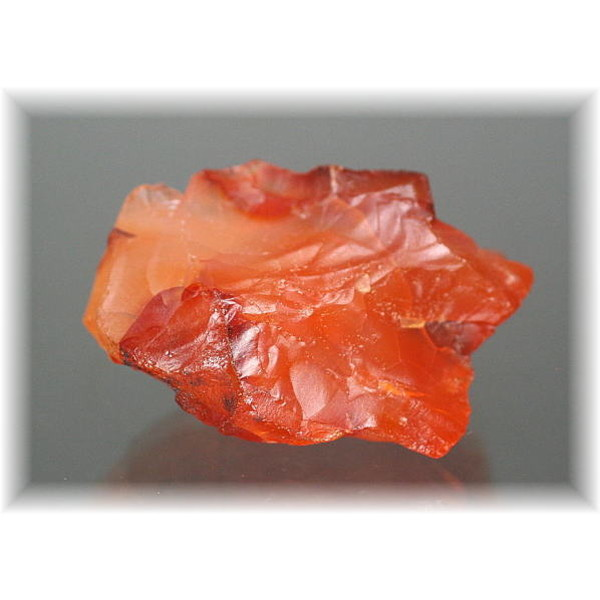 天然無着色オレンジカルセドニー結晶石(ORANG_CHALCEDONY-RAF06)