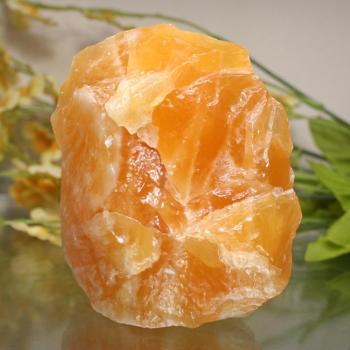 [メキシコ産]オレンジカルサイト原石☆きっかけ特別価格品