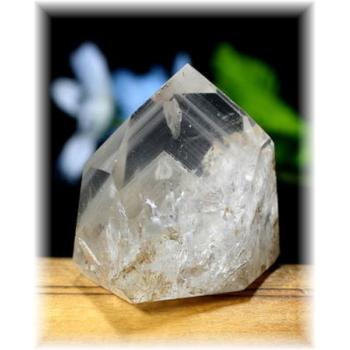 ブラジル産ファントム水晶ポリッシュポイント(PHANTOM-133)