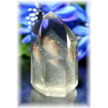 ブラジル産ファントム水晶ポリッシュポイント(PHANTOM-210)