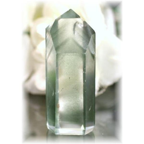 ブラジル産ファントム水晶ポリッシュポイント(PHANTOM-IS309)