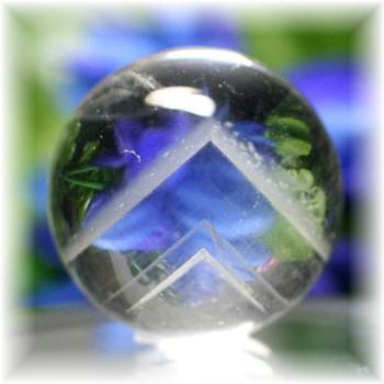 マダガスカル産ファントム水晶丸玉(PHANTOM_QUARTZ_SPHERE-MD04)