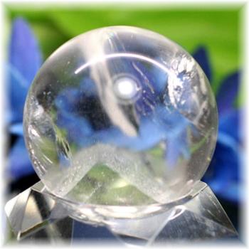 [高品質]ファントム レインボー水晶 丸玉(PHAQZ-SPHERE0294IS)