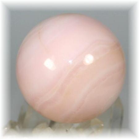 ペルー産ピンクマンガンカルサイト丸玉(PINKUMANGAN-R110)