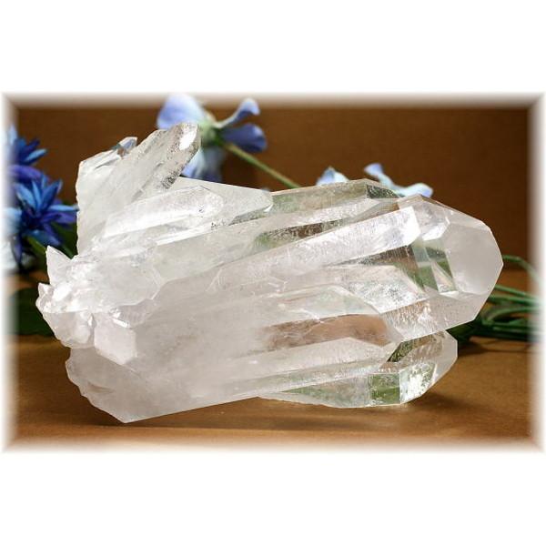 ブラジル・ミナスジュライス産水晶クラスター