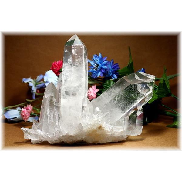ブラジル・ミナスジュライス産水晶クラスター(QUARTZCLUSTER-1846IS)
