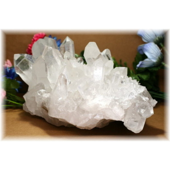ブラジル・ミナスジュライス産水晶クラスター(QUARTZCLUSTER-2800IS)
