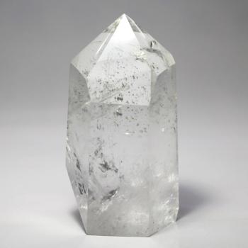 [ブラジル産]水晶 ポリッシュポイント/クォーツインクォーツ☆きっかけ特別価格品