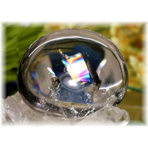 ブラジル産レインボー入り水晶フリーフォーム(RAINBOWINQUARTZ-FF103IS)