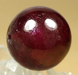 ジェムグレードルビー約14.6ミリ玉 粒売り(RUBY-IS-BEADS26)