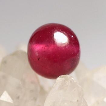 [ジェムグレード]ルビー 粒販売[7.0mm](JEMRUBY-tubu-03IS)