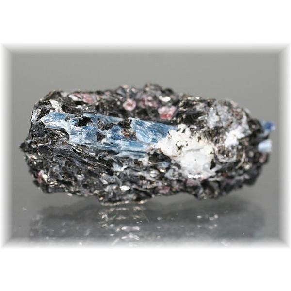 ロシアンカイヤナイト結晶付き原石
