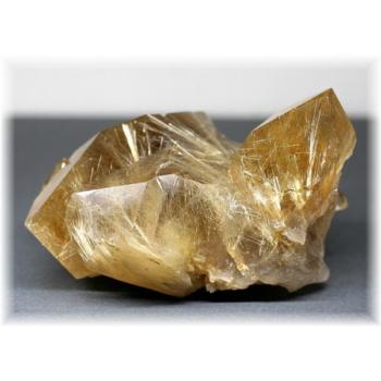 高品質ブラジル産ゴールドルチルクォーツクラスター(RUTILEQUARTZ-CLUSTER0460IS)