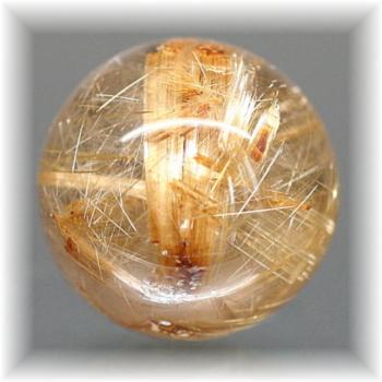 ブラジル産ルチルクォーツ丸玉(RUTILESPHERE-6011IS)