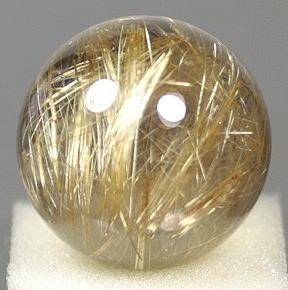ブラジル産ルチルクォーツ丸玉(RUTILESPHERE-509)