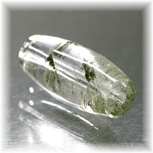 ガネッシュヒマール産ヒマラヤ水晶天珠型ビーズ(GANEZA-GEQB107)