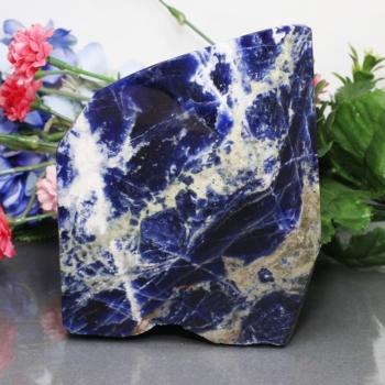 ブラジル産ソーダライト磨き原石[SOPL-01](SODALITE-Plaf01IS)