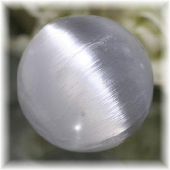 モロッコ産セレナイト丸玉/スフィア(SELENITE-SPHERE201)
