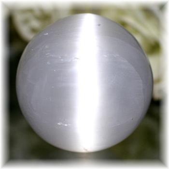 モロッコ産セレナイト丸玉/スフィア(SELENITE-SPHERE205)