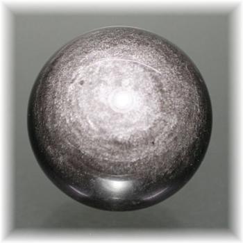 メキシコ産シルバーオブシディアン スフィア(SILVEROBSIDIAN-705IS)
