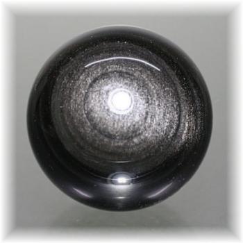 メキシコ産シルバーオブシディアン スフィア(SILVEROBSIDIAN-712IS)