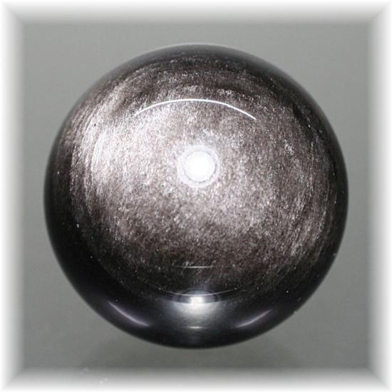 メキシコ産シルバーオブシディアン スフィア(SILVEROBSIDIAN-716IS)