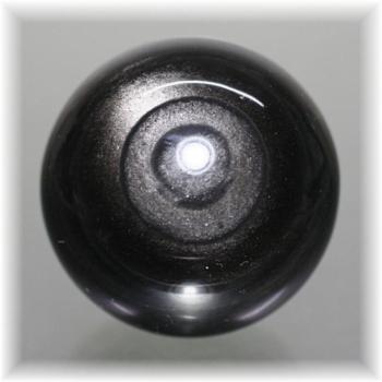 メキシコ産シルバーオブシディアン スフィア(SILVEROBSIDIAN-719IS)