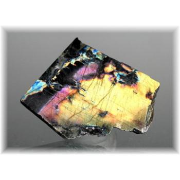 フィンランド産スペクトロライト1面磨き結晶石(SPECTROLITE-JPP102)