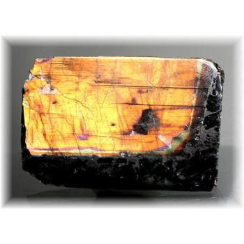 フィンランド産スペクトロライト1面磨き結晶石(SPECTROLITE-JPP202)