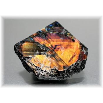 フィンランド産スペクトロライト1面磨き結晶石(SPECTROLITE-JPP204)