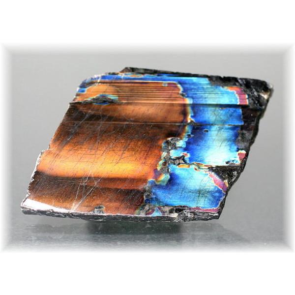 フィンランド産スペクトロライト1面磨き結晶石(SPECTROLITE-JPP206)