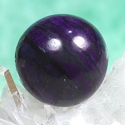 3Aスギライト約9ミリ玉 粒販売(SUGILITE-TUBU-IS17)