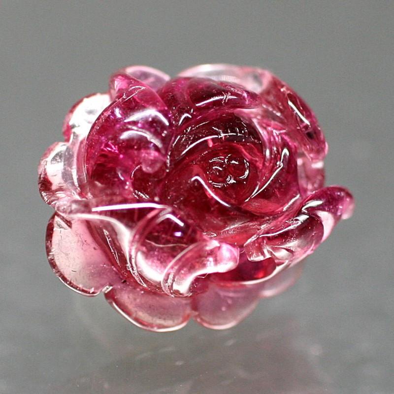 レッドトルマリン薔薇シェイプ115IS