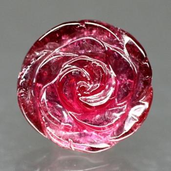 レッドトルマリン薔薇シェイプ230IS