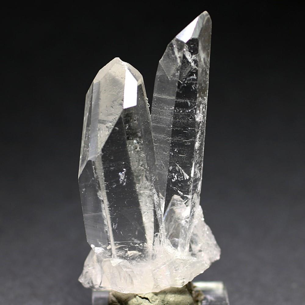 [高品質] ブラジル/ゼッカデソーザ産水晶ミニクラスター/ナチュラルポイント型(ゼッカデソウザ)